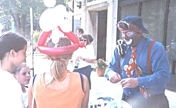 Feel N. Lucky at A Festival in Piqua in 2003